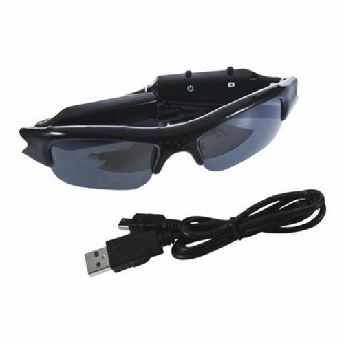 New Camera Glasses HD Hidden Eyeglass Sunglasses Eyewear Recorder MP3 DVR TF CHY