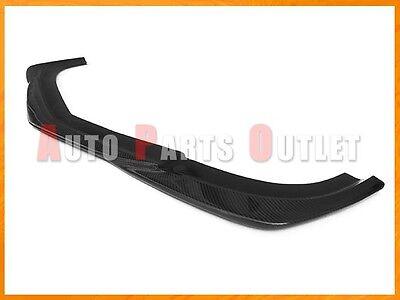 Carbon Fiber GH Style Front Bumper Add-on Lip For 08-11 M-BENZ W204 C63AMG Sedan