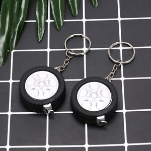 car-tire-measure-portable-keychain-plastic-retractable-soft-ruler-sewing-tool-EO