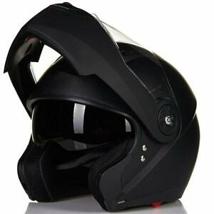 5 Colors Modular Flip up Dual Visor Motorcycle Helmet Mountain Bike Helmet DOT