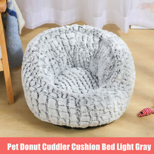 Pet-Cat-Dog-Calming-Bed-Round-Nest-Warm-Soft-Dount-Plush-Sleeping-Kennel-Bag