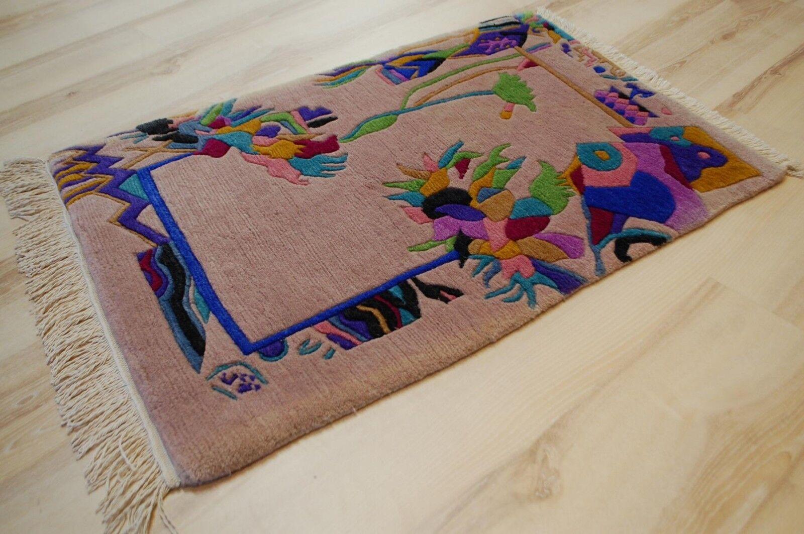 Nepal Carpet Yssima Nini Ferrucci 9361 60x90 cm Colourful Designer A