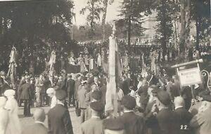 9-147-AK-SANGERFEST-AUERBACH-1930-ENDE-UMZUG-MANNERGESANGSVEREIN-SCHONBECK