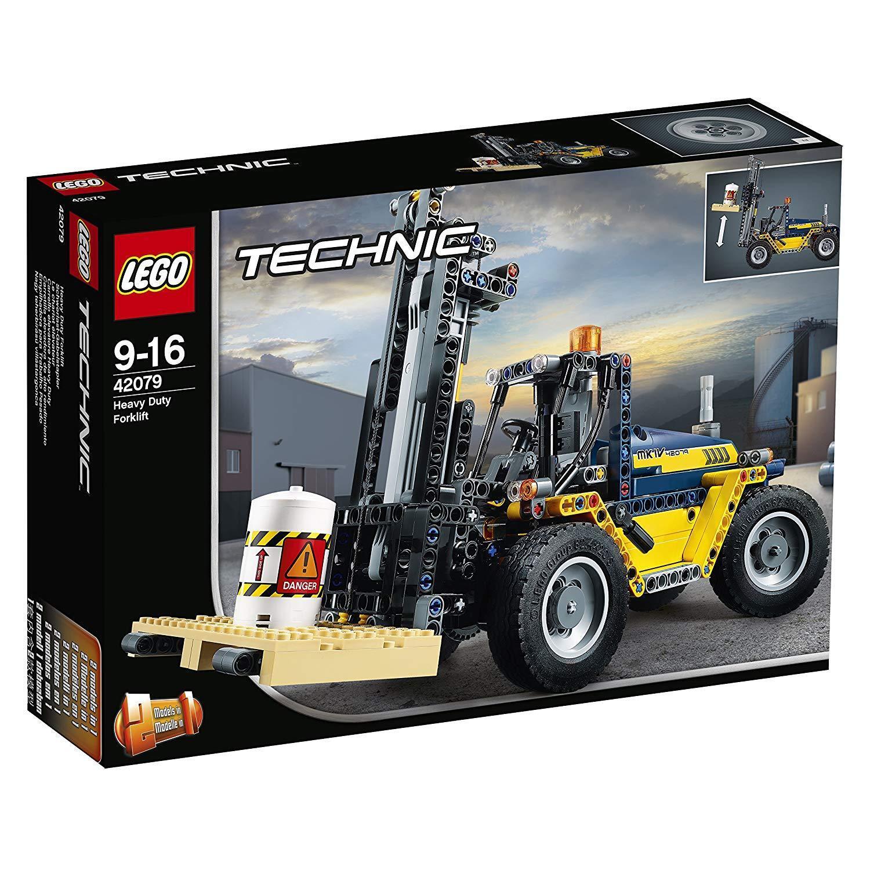LEGO TECHNIC IL CARRELLO ELEVATORE HEAVY DUTY 42079 -nuovo-italia