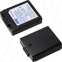 7.2v 800mah Replacement Battery Compatible With Panasonic Dmw-bm7