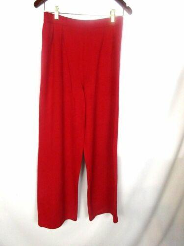 Santana rouge Pantalon St Collection mélangée en rouge john et laine BczqRcfw