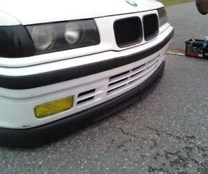 WIDE-GTR-DIY-lip-for-BMW-E36-SE-front-bumper-spoiler-chin-valance-trim-splitter