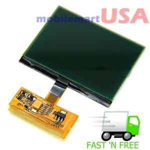 Details about LCD to VDO Screen for Audi A3 A4 A6 VW Passat Jetta Glass  Dashboard Cluster NEW!