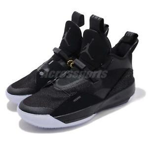 Nike Air Jordan XXXIII PF 33 Blackout Fastfit Mens Basketball Shoes ... ef1b0e3da