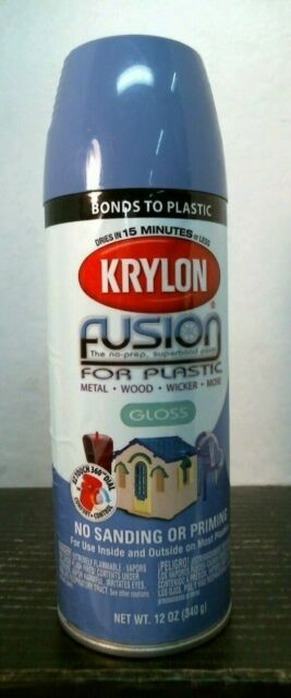 Blue Hyacinth Fusion For Plastic Spray Paint By Krylon 2333