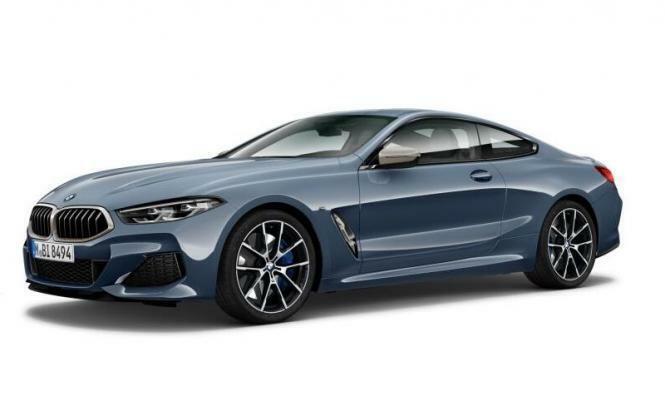 NOREV 1 18 BMW 8er coupé - 2018-Barcelone bleu Metallic