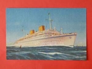 LLOYD TRIESTINO nave VICTORIA ship Trieste Klodic vecchia cartolina * - Italia - LLOYD TRIESTINO nave VICTORIA ship Trieste Klodic vecchia cartolina * - Italia