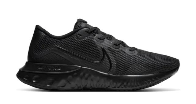 Nike Renew Run Men's Running Shoes All Black Beauties