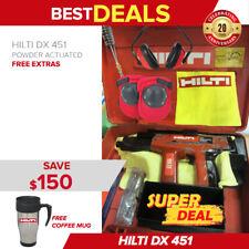Hilti Dx 451 Power Actuated Nail Gun Free Hilti Mug Extras Fast Shipping
