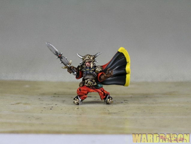 WDS painted ABYSSAL DWARF SUPREME IRON-CASTER IRON-CASTER IRON-CASTER ON GREAT WINGED HALFBREEDw67 a6ca9a