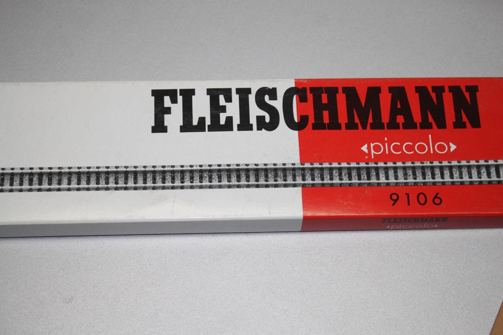 Fleischmann 9106 20 unid. flexible vía cuanto 777mm pista n OVP