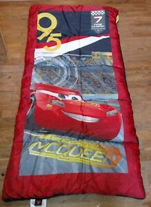 Details About Disney Pixar Cars 3 Lightning Mcqueen Camping Sleeping Bag New W Tags