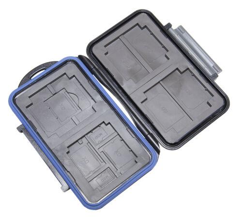 2 XD wasserdicht 2 SD 2 MSPD JJC Speicherkartenbox MC-5 für 4 CF 2 Micro SD