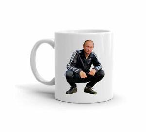 Putin-Trump-Gopnik-slavo-Squat-Divertente-Regalo-Carino-11-OZ-Tazza-da-caffe