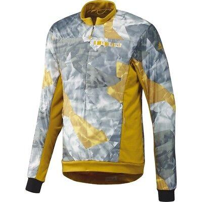 Adidas Terrex Herren Sportjacke Warm Jacke Schlupfjacke Outdoor Bike Camouflage Phantasie Farben