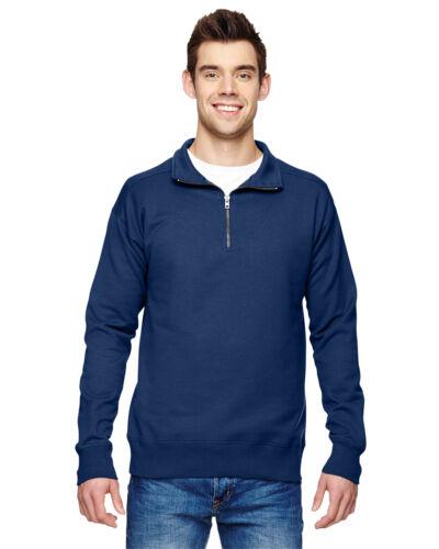 Hanes Mens Pullover Nano Fleece 1//4 Zip Sweatshirt N290