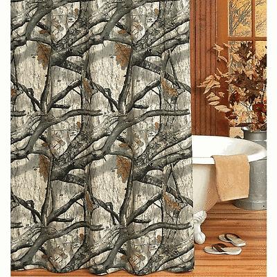 Mossy Oak Treestand Camo Shower Curtain