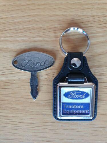 Ford Tractor Llave De Encendido /& Llavero