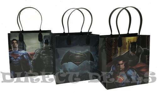 30 PCS Birthday Candy Treat Toy Bag Superman Batman Party Favors Gift Bags