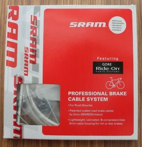 SRAM-Ride-On-professional-brake-cable-system-coated-Gore-White
