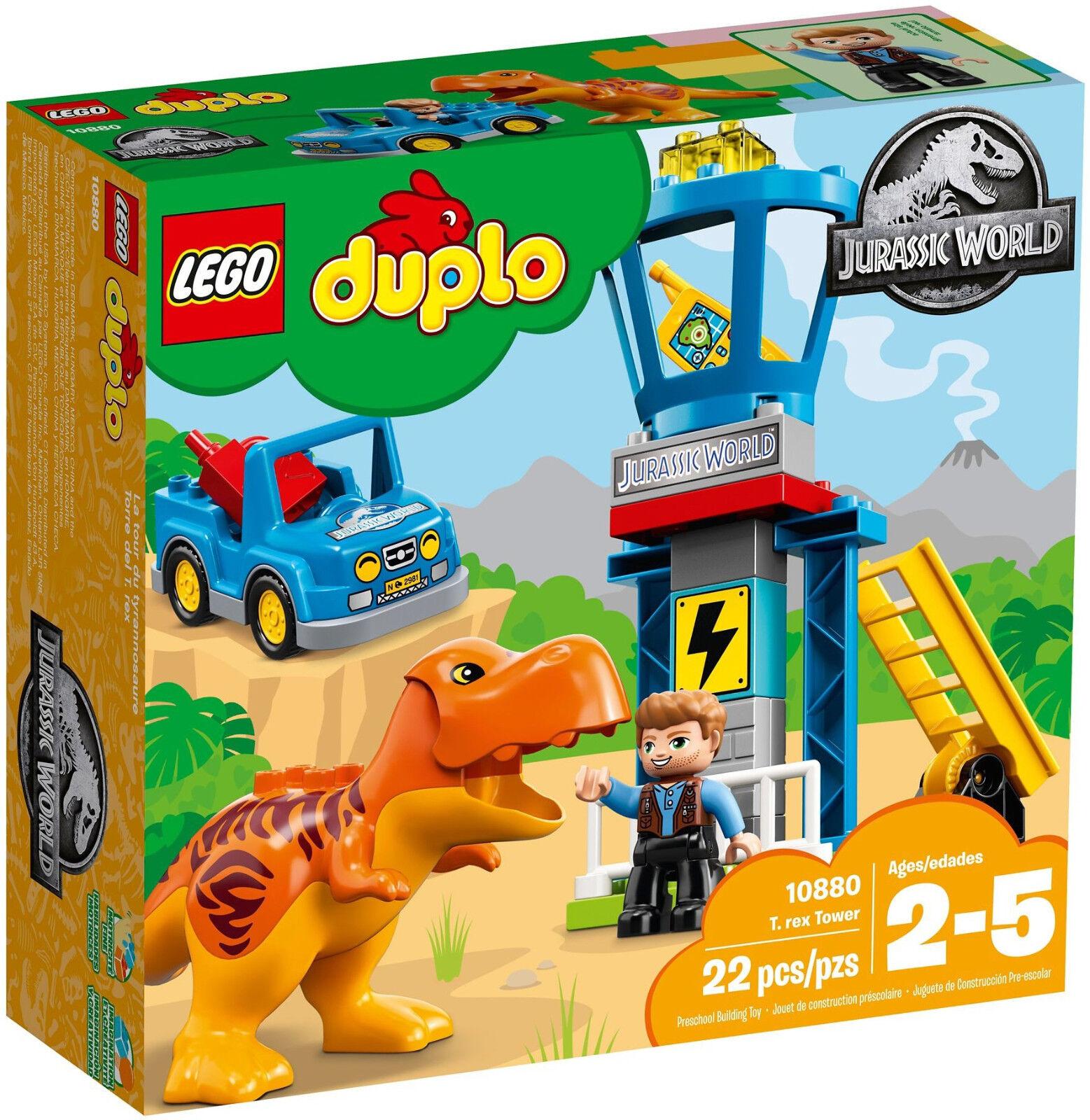 LEGO Duplo - 10880 T-Rex Aussichtsplattform / T-Rex Tower - Neu & OVP