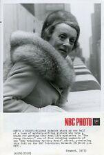 MILDRED NATWICK PORTRAIT THE SNOOP SISTERS ORIGINAL 1973 NBC TV PHOTO