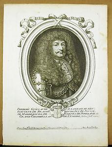Frederic-guillaume-Ier-Of-Brandenburg-Prussia-Xvii-E-Nicolas-Larmessin-Engraving