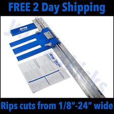 Kreg Tool Rip Cut Circular Saw Guide for Precision Cutting KMA 2675 Metric Rail