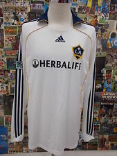 maglia calcio shirt maillot camiseta trikot LOS ANGELS GALAXY BECKHAM TG XL