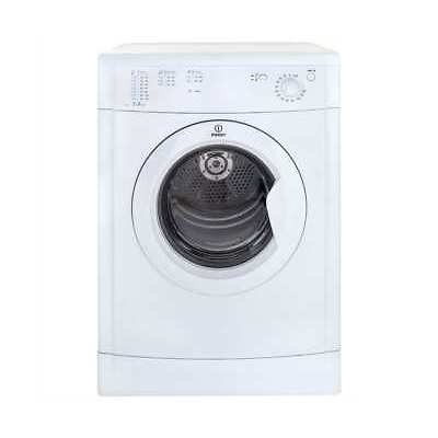 Indesit IDV75 Eco Time 7Kg Vented Tumble Dryer White New from AO
