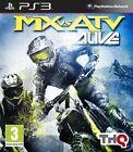 MX vs. ATV Alive (Sony PlayStation 3, 2011) - European Version