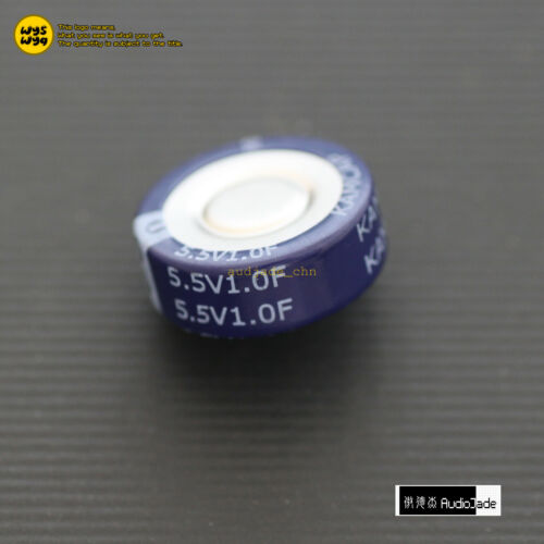 Audio Jade 1F 5.5V KAM C V H type Double Layer Farad Super Capacitors