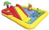 Childrens Swimming Paddling Pool Intex Ocean Play Centre Slide Garden Water Fun