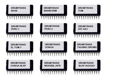 Oberheim DMX Percussion 2 Shaker Claps Sound Eprom
