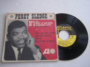 EP-4-TITRES-VINYLE-45-T-PERCY-SLEDGE-WHEN-A-MAN-LOVES-A-WOMAN-VG-VG