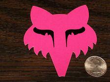 Genuine PINK FOX RACING LEGACY HEAD Sticker Car Window Decal Girls Riding Gear