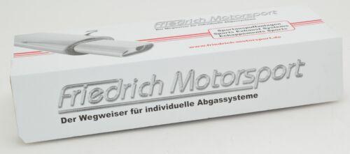 """innen Länge:190mm// Durchmesser:76mm Friedrich Motorsport 3/"""" Doppelmuffe"""