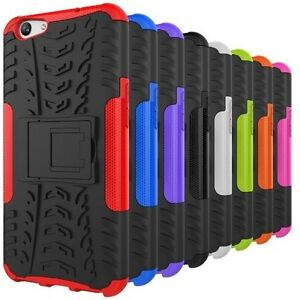 For-New-OPPO-A57-Heavy-Duty-TPU-Shockproof-Hybrid-Kickstand-Tough-Case-Cover