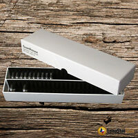 Coin Capsule Storage Box For 50 Direct Fit Nickel Capsules