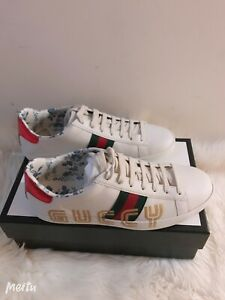 NIB Gucci New Ace Guccy Logo Sneaker