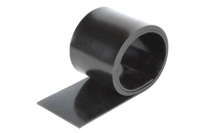 Gummistreifen in der Gr/ö/ße 2000x100x15mm Gummi-Matte Auflage Streifen Unterlage Sch/ürfleiste Abrieb Schneeschild Leiste