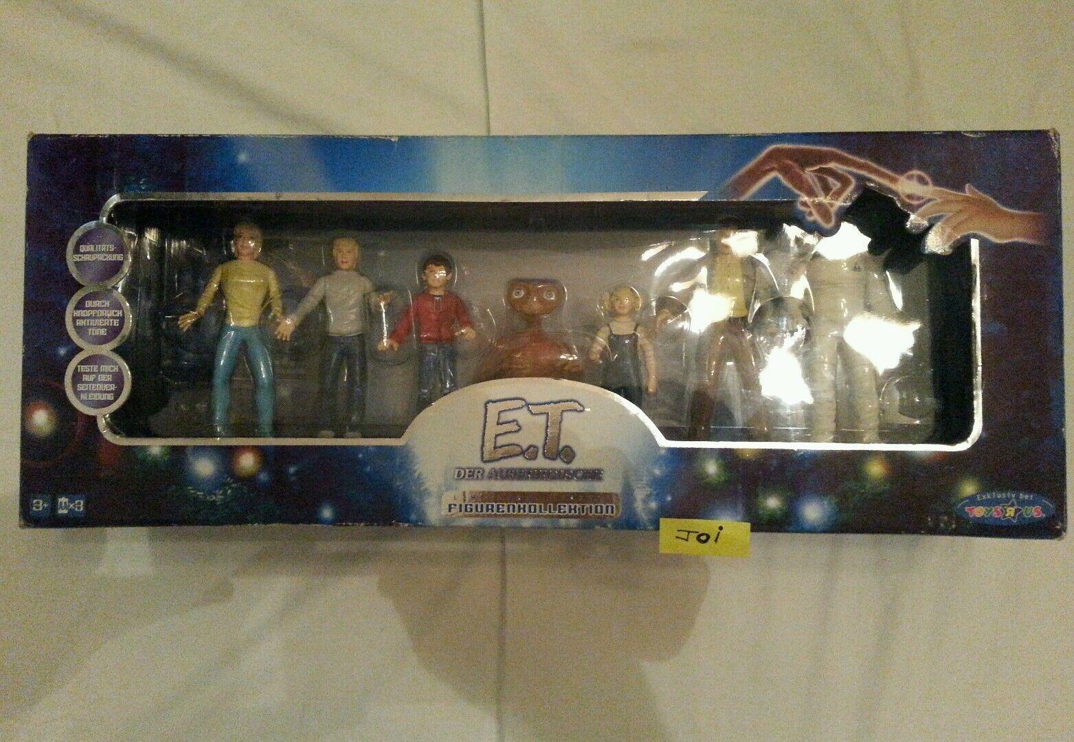 E.T Extraterrestre action figure completo 2001 nuovo