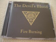 THE DEVIL'S BLOOD - Fire Burning CD Live Party San 2010 NM Rock Hard