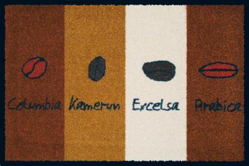 Fußmatte Komfortmatte KLEEN-TEX  wash+dry Design Coffee Coffee Coffee Blend 60x85 cm So 0caccc