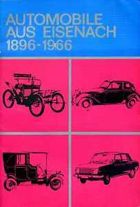 Complexé Automobiles De Eisenach 1896-1966 [wartburg] Ultra-rar!-afficher Le Titre D'origine Performance Fiable